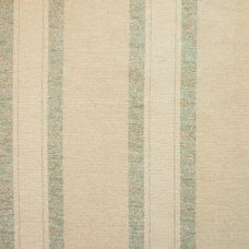 Biscuit & Teal Chenille Upholstery Fabric - Sardinia 2580