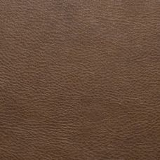 Chestnut Brown Faux Leather Upholstery Fabric - Ancona 1543