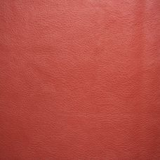 Red Faux Leather Upholstery Fabric - Ancona 1546