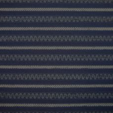 Midnight Blue  Chenille Upholstery Fabric - Fiorano 1972