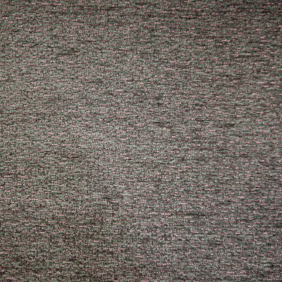 Graphite Rose Chenille Upholstery Fabric - Genoa 3012