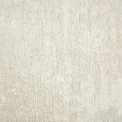 Igloo White Velvet Upholstery Fabric - Fantasia 2910