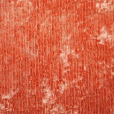 Orange Crush Velvet Upholstery Fabric - Fantasia 2920