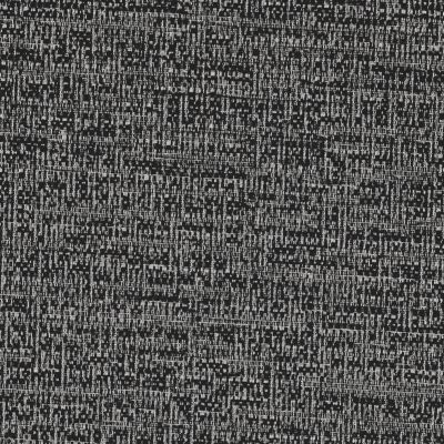 Back in Black Chenille Upholstery Fabric - Casino 3675