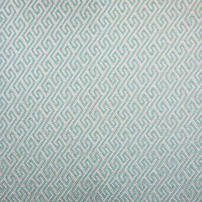 Duck Eggshell Flat Weave Upholstery Fabric - Galileo 3020