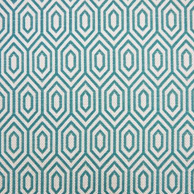Kingfisher Crown Flat Weave Upholstery Fabric - Galileo 3024