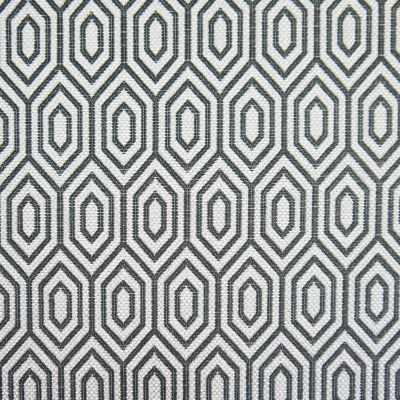 Barbecue Charcoal Flat Weave Upholstery Fabric - Galileo 3045