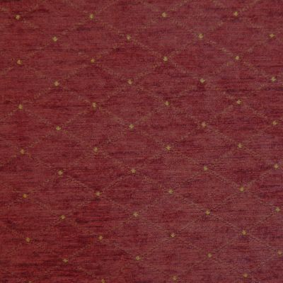 Medici Red Chenille Upholstery Fabric - Palazzo 2728