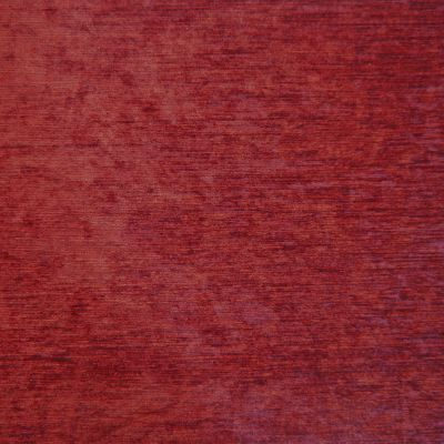 Medici Red Chenille Upholstery Fabric - Palazzo 2733