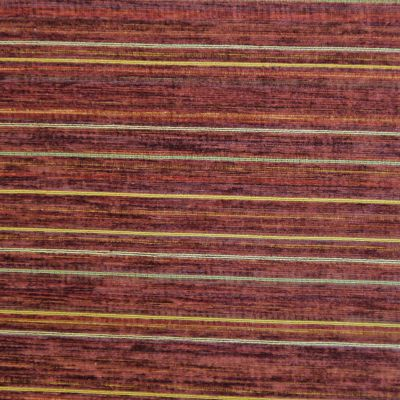 Medici Red Chenille Upholstery Fabric - Palazzo 2748