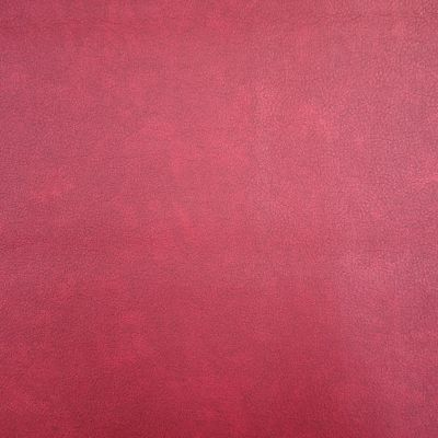 Pugin Red Faux Leather Upholstery Fabric - Turin 2984