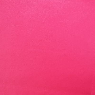 Shocking Pink Faux Leather Upholstery Fabric - Monza 3217