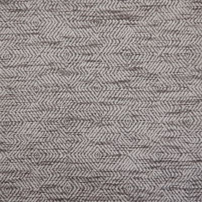 Rocket Ship Grey Chenille Upholstery Fabric - Monopoli 2969