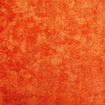 Sizzling Orange Chenille Upholstery Fabric - Opera 3128