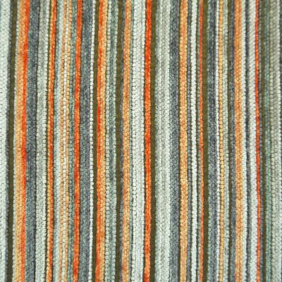 Orange Crush Chenille Upholstery Fabric - Pescara 2484