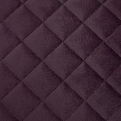 Deep Space Purple Velvet Upholstery Fabric - Quadro 3309