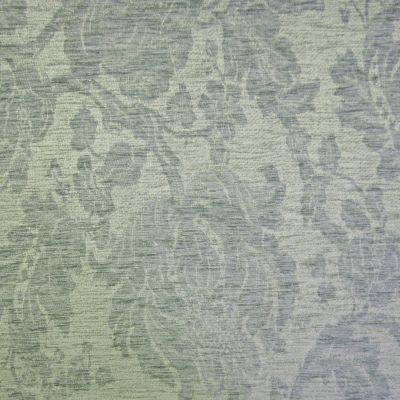 Steel Blue Chenille Upholstery Fabric - Venezia 2608