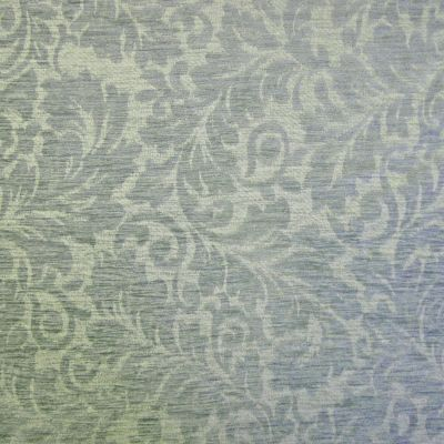 Steel Blue Chenille Upholstery Fabric - Venezia 2626