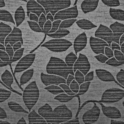 Charcoal Chenille Upholstery Fabric - Rialto 2647