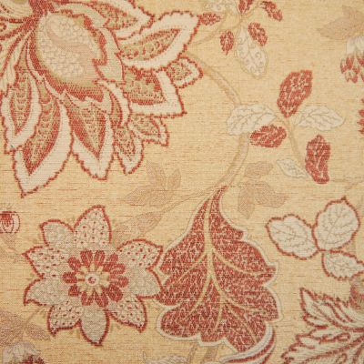 Saffron & Gold Chenille Upholstery Fabric - Sardinia 2559