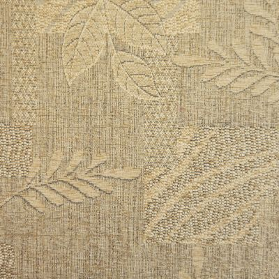 Oatmeal Chenille Upholstery Fabric - Treviso 2509