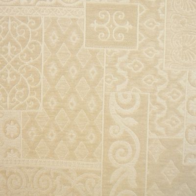Cream Chenille Upholstery Fabric - Umbria 2277
