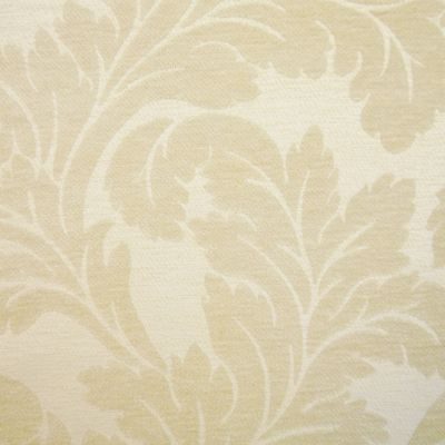 Cream Chenille Upholstery Fabric - Umbria 2287