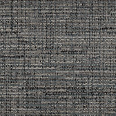 Lava Grey Chenille Upholstery Fabric - Luciano 3301