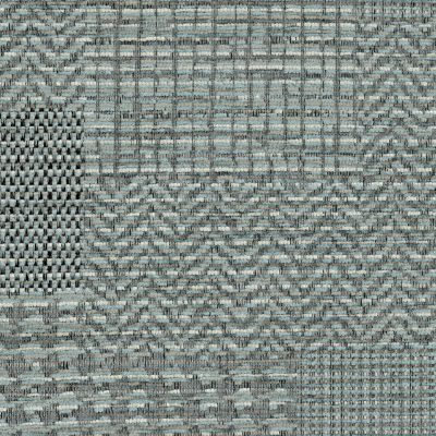Blue Steel Chenille Upholstery Fabric - Fortuna 3490