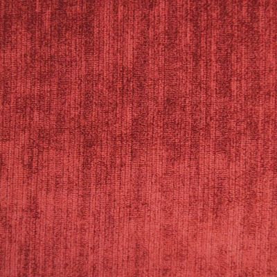 Paprika Red Velvet Upholstery Fabric - Assisi 2021