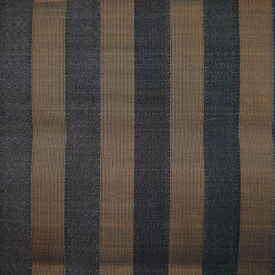 Black and Gold Horsehair Upholstery Fabric - Cavallo 1979