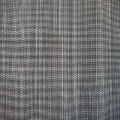 Blue and Grey Horsehair Upholstery Fabric - Cavallo Horsehair 1982