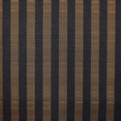 Black and Gold Horsehair Upholstery Fabric - Cavallo 1978