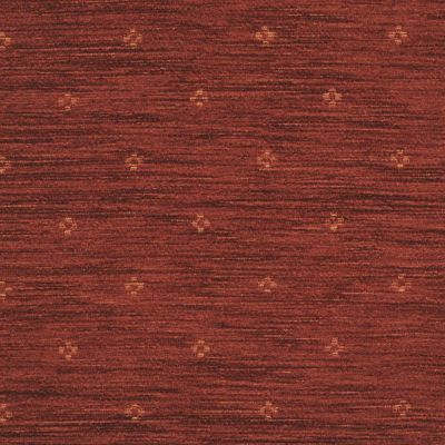 Terracotta Red Chenille Upholstery Fabric - Maranello 1575