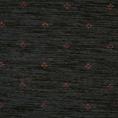 Midnight Blue Chenille Upholstery Fabric - Maranello 1580