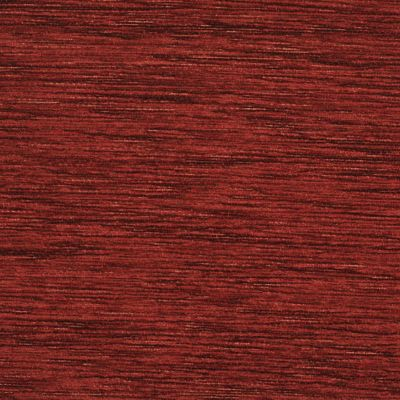 Ruby Red Chenille Upholstery Fabric - Maranello 1587