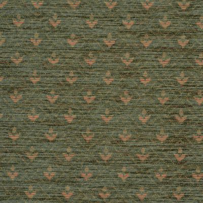 Bottle Green Chenille Upholstery Fabric - Maranello 1601