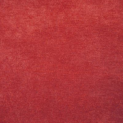 Paprika Red Velvet Upholstery Fabric - Messina 2057