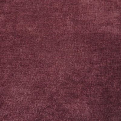 Aubergine Velvet Upholstery Fabric - Messina 2058