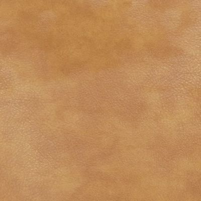 Tan Faux Leather Upholstery Fabric - Monza 1281