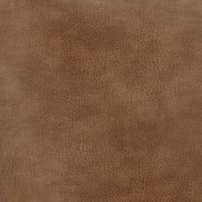 Tobacco Faux Leather Upholstery Fabric - Monza 1282