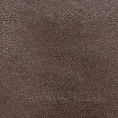 Mahogany Faux Leather Upholstery Fabric - Monza 1286