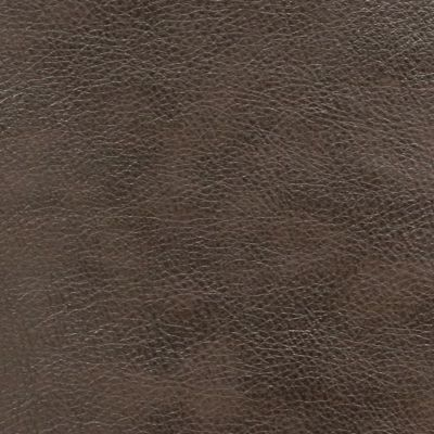Mocha Faux Leather Upholstery Fabric - Monza 1287
