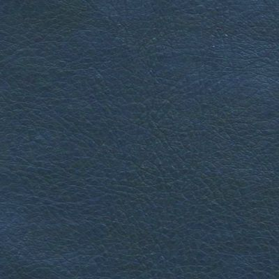 Midnight Blue Faux Leather Upholstery Fabric - Monza 1292