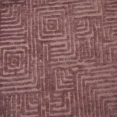 Lilac Velvet Upholstery Fabric - Palermo 1932