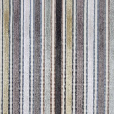 Black, White, Taupe, Cream, Dove & Gunmetal Velvet Upholstery Fabric - Pisa 1416