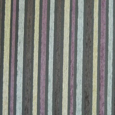 Mauve, Mocha, Sand and Silver Chenille Upholstery Fabric - Puccini 2129