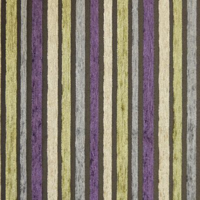 Amethyst, Lime Green, Sand and Flannel Grey Chenille Upholstery Fabric - Puccini 2131