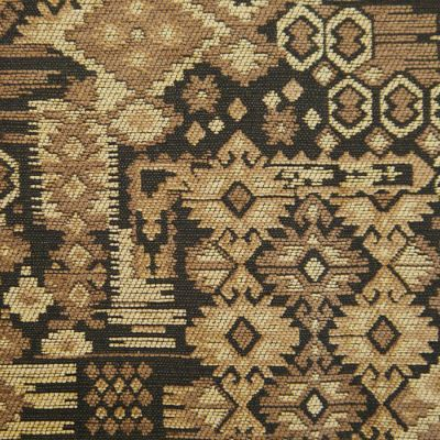 Old Gold, Coffee  Chenille Upholstery Fabric - Rigoletto 2145