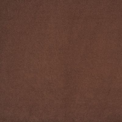 Espresso Faux Suede Upholstery Fabric - Salerno 1613
